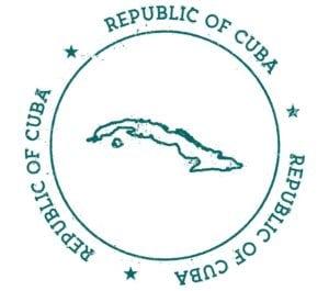 visto de Cuba