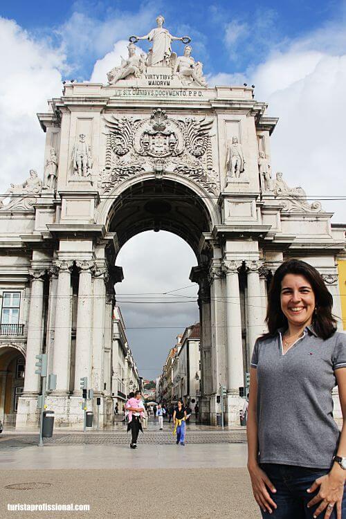 arco do triunfo de Lisboa