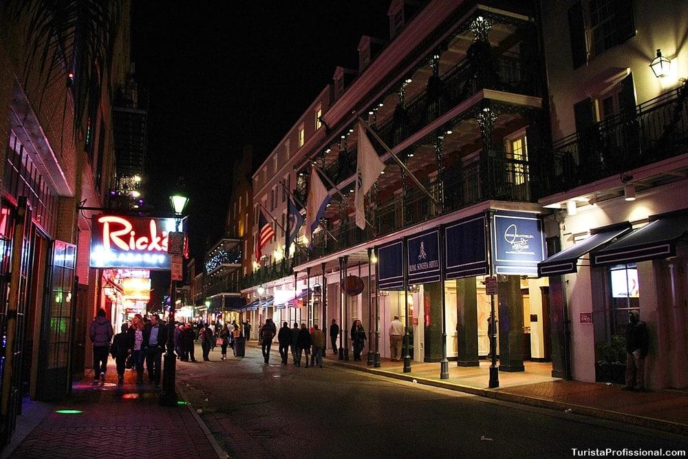 bourbon street new orleans - Como é a vida noturna em New Orleans