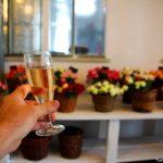 champanhe de rosa