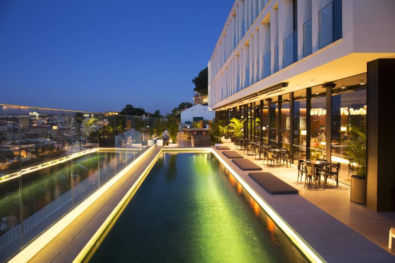 hotel no Príncipe Real em Lisboa