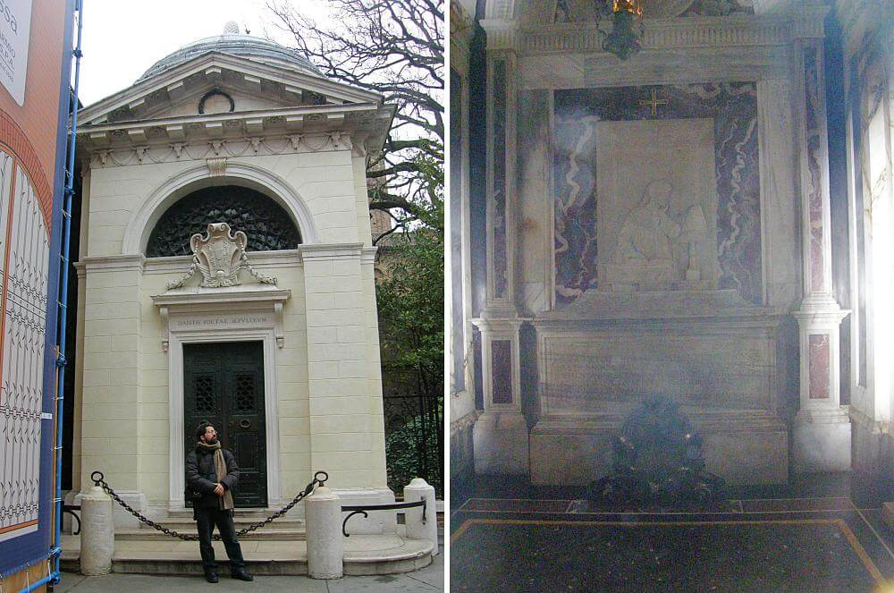 túmulo de Dante Alighieri