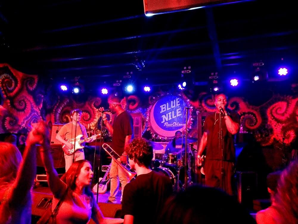 vida noturna em new orleans blue nile - Como é a vida noturna em New Orleans