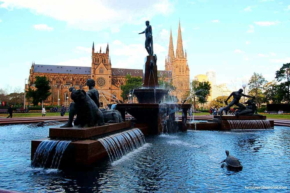Catedral St Mary em Sydney