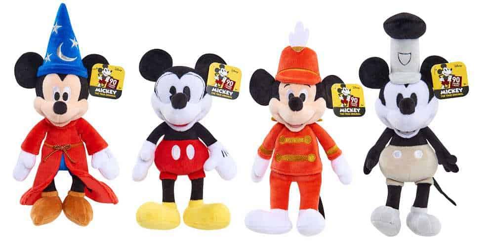 JustPlay Mickeys 90th Bean Plush - História do Mickey Mouse: curiosidades do símbolo da Disney que faz 90 anos