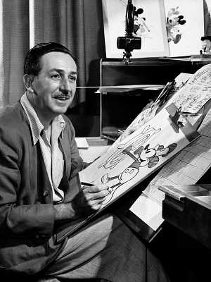 Walt Disney criou o Mickey