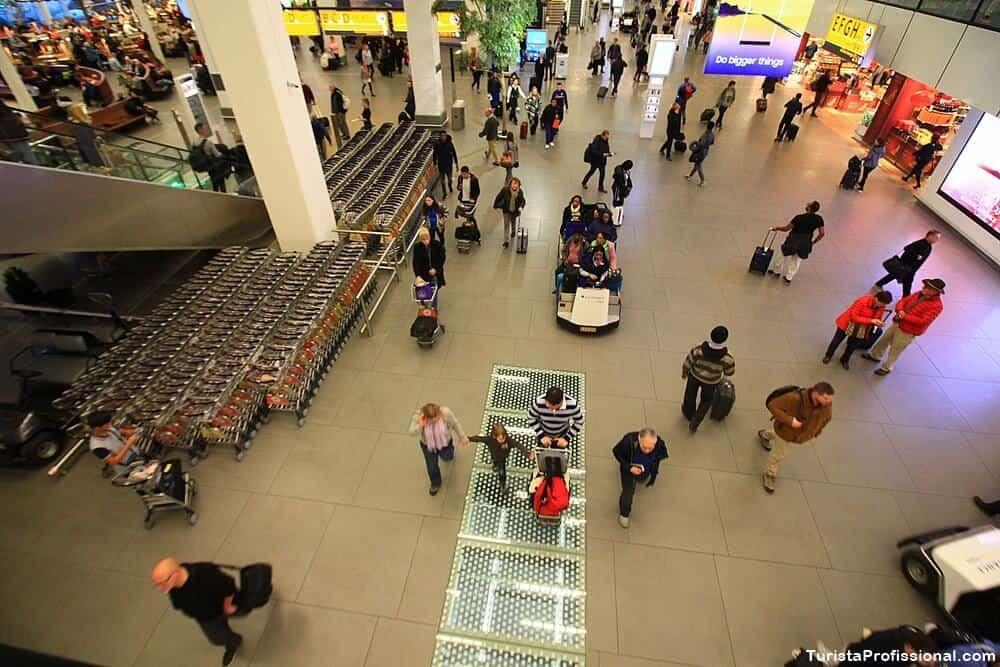 aeroporto amsterdam - Aeroporto de Amsterdam: dicas e curiosidades