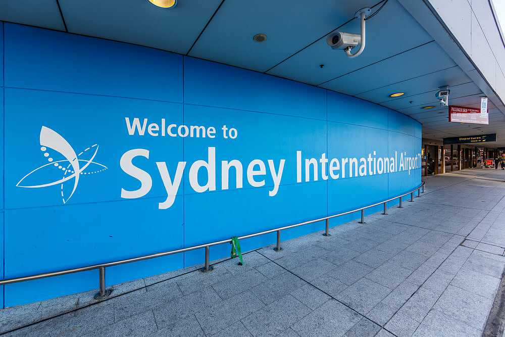 aeroporto de Sydney