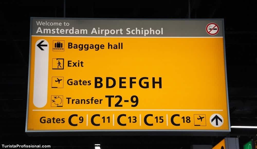 aeroporto de amsterdam - Aeroporto de Amsterdam: dicas e curiosidades