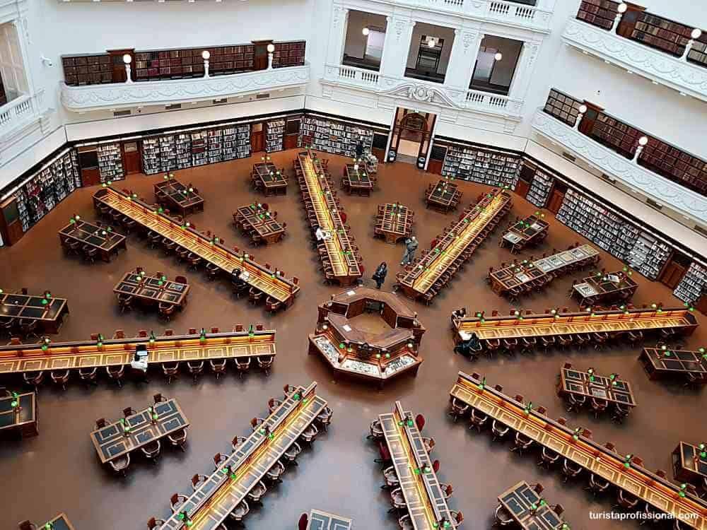 biblioteca de Melbourne - Dicas de Melbourne: tudo o que você precisa saber!