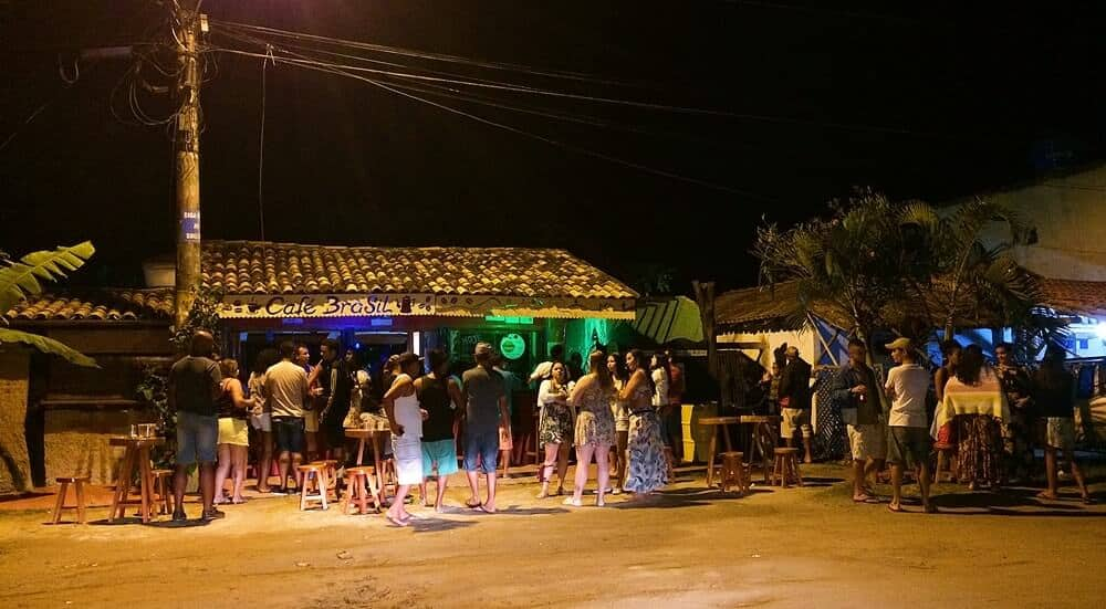 Forró em Itaúnas Café Brasil