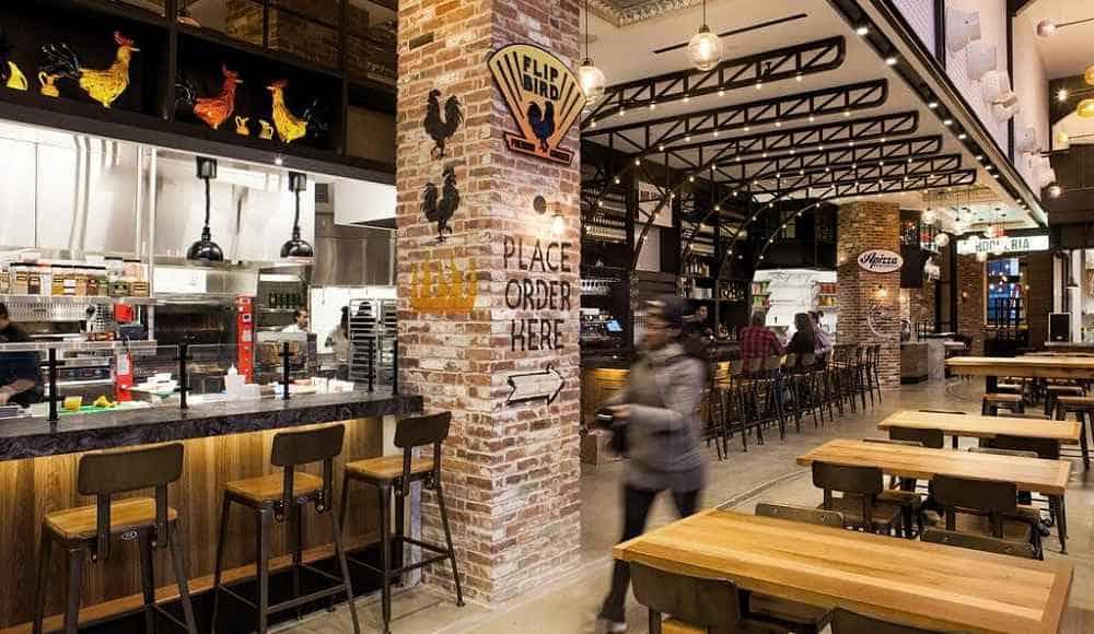gotham west market - Mercados gastronômicos em Nova York