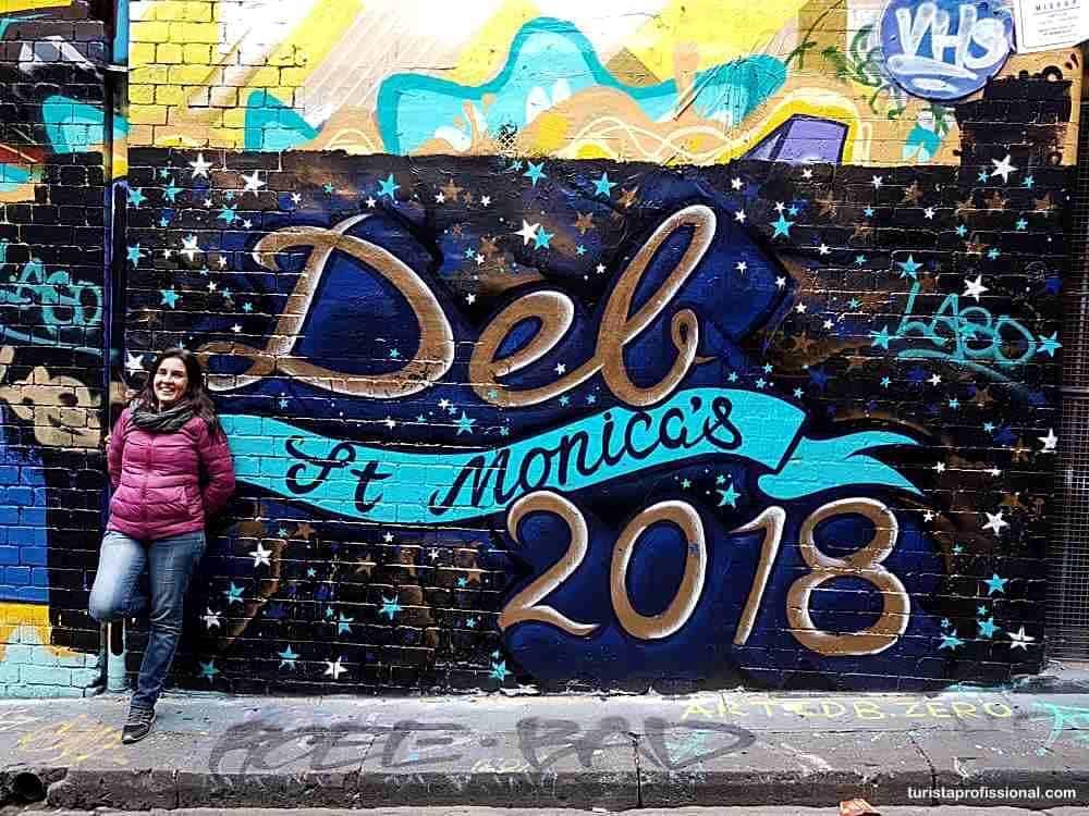 grafites em Melbourne
