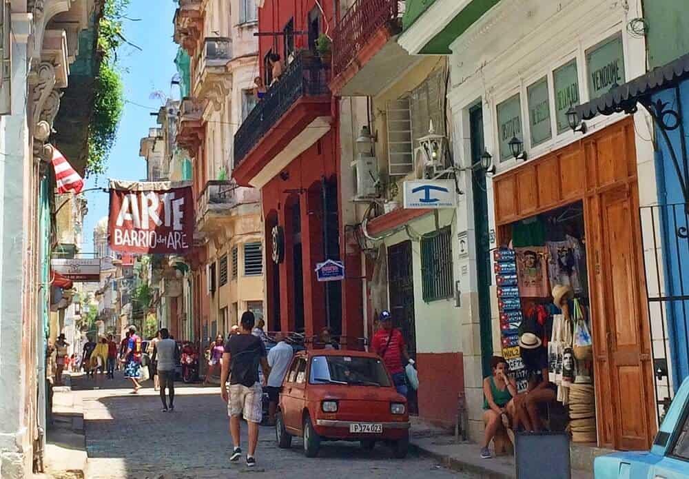 Rua de Habana Vieja
