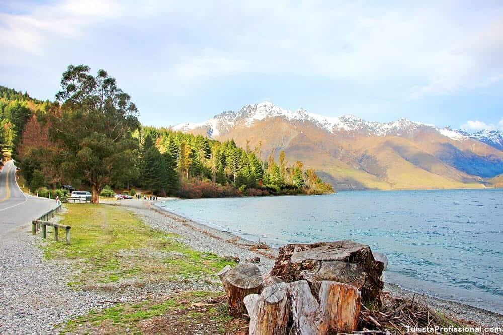 lago de queenstown nova zelandia