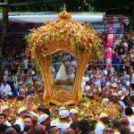 Nossa Senhora de Nazaré no Círio em Belém