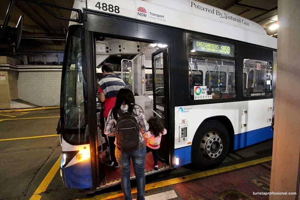 ônibus em Sydney
