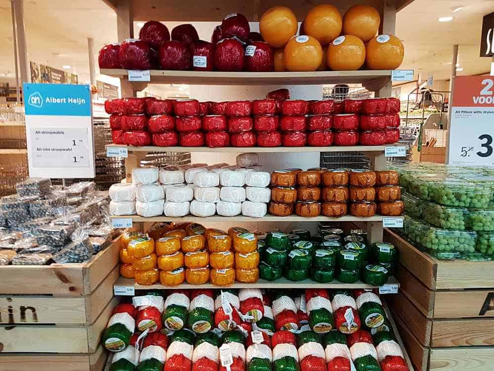 queijos holandeses - Aeroporto de Amsterdam: dicas e curiosidades