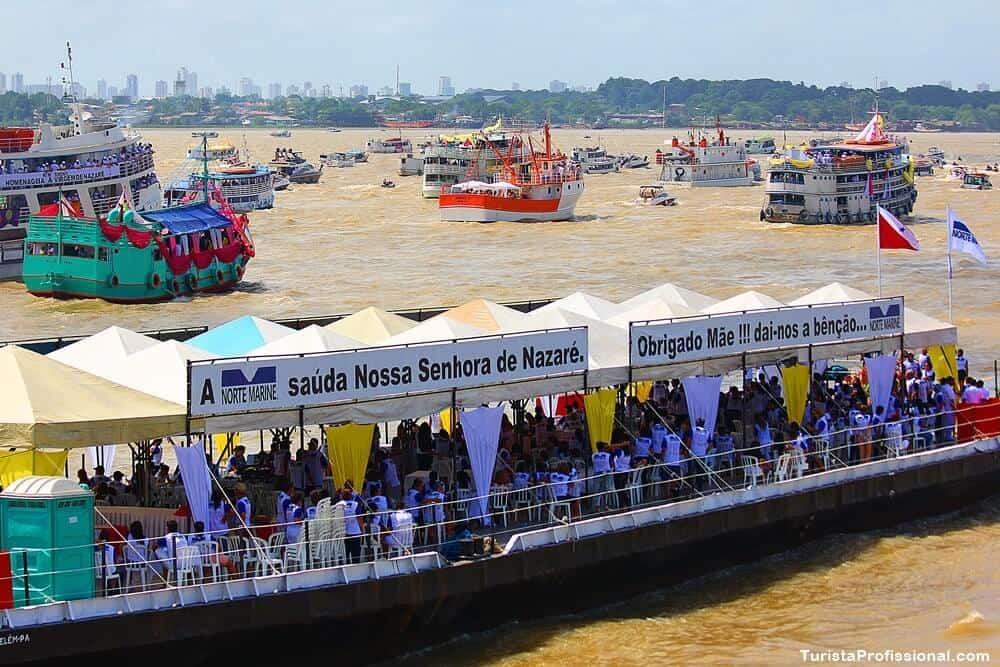 romaria fluvial cirio de nazare - Círio de Nazaré em Belém: o que é e como é o  - roteiro completo