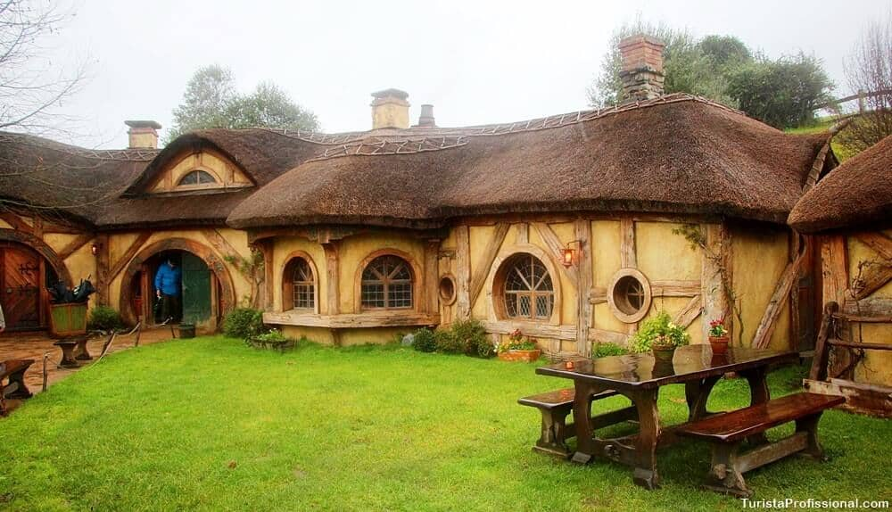 Taverna Hobbit Green Dragon Inn