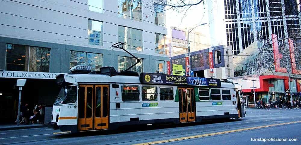 transporte em Melbourne