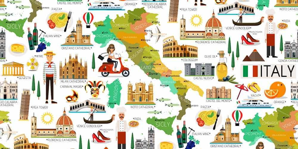 viagem para a Itália