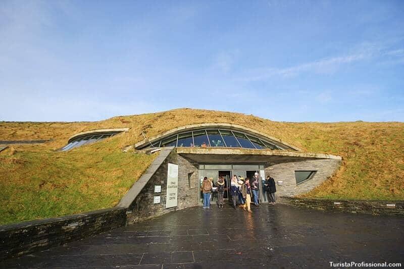 Cliffs of Moher Irlanda Centro de visitantes