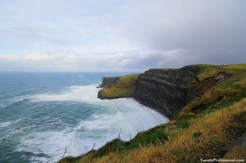 Cliffs of Moher atração turística da Irlanda
