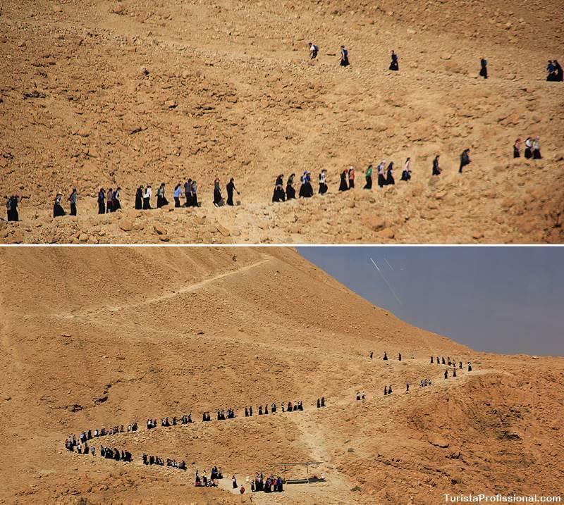 como chegar em massada israel - Uma visita às ruínas de Massada em Israel