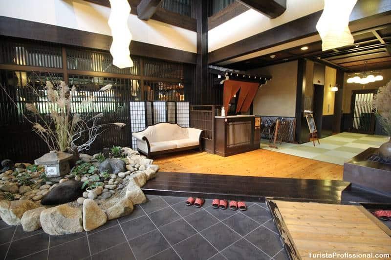 Hotel em Takayama no Japão