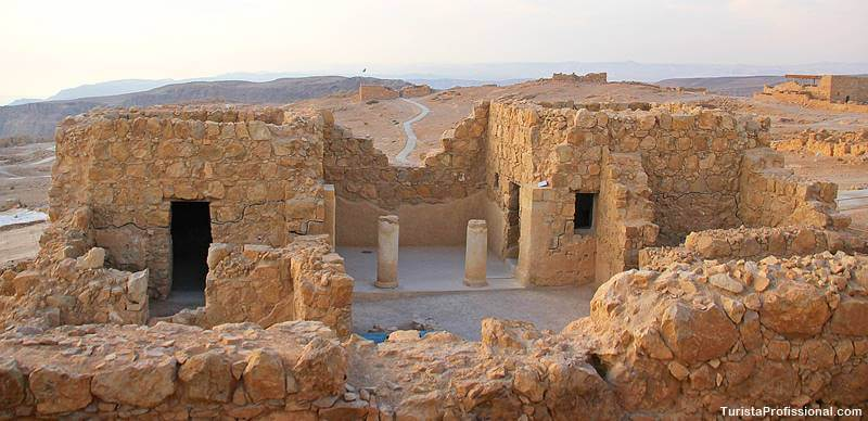 massada o que fazer - Uma visita às ruínas de Massada em Israel