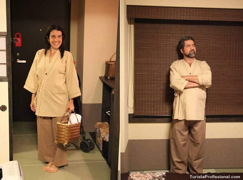a tradição dos banhos termais no Japão