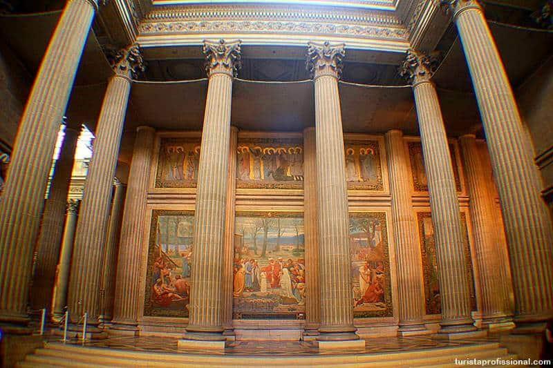 Colunas do panteão de Paris