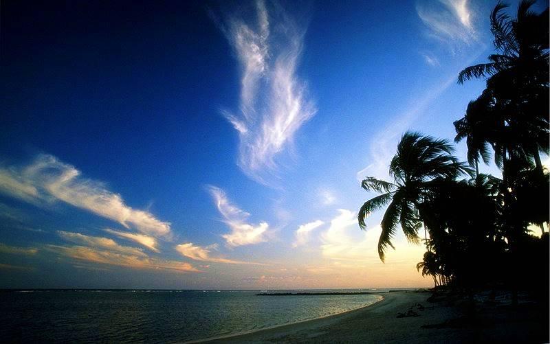 por do sol na ilha de itaparica, Bahia
