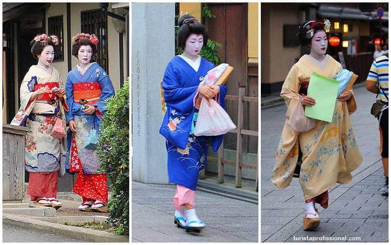 gueixas em kyoto japao - O que fazer em Kyoto, no Japão: principais atrações