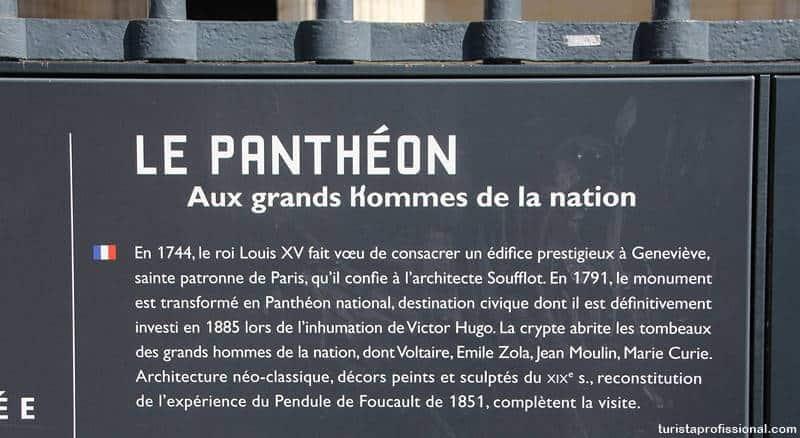 o que é o Panteão de Paris