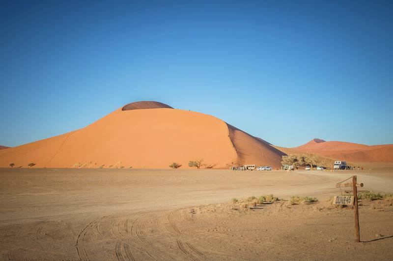 Paisagem da Namíbia África