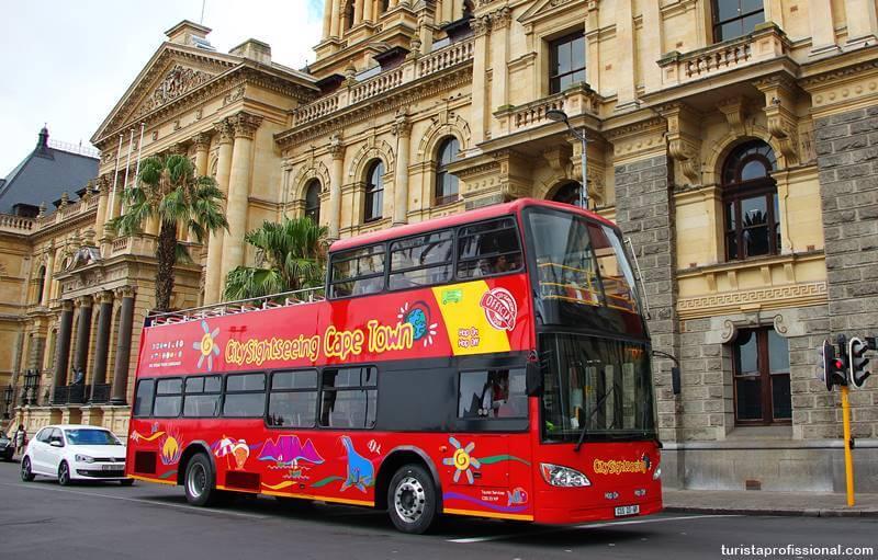 ônibus em cape town