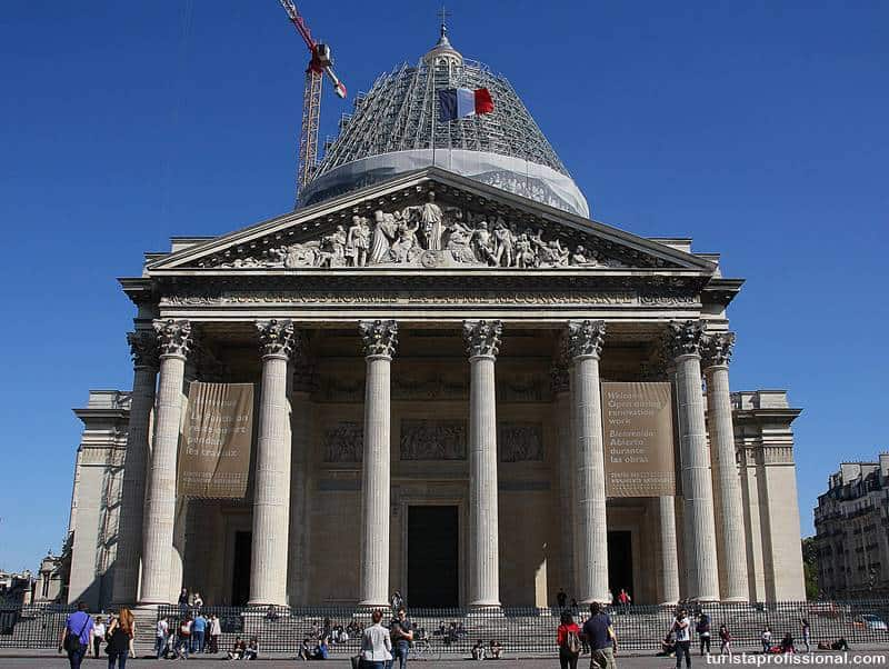 panteao de paris - Panteão de Paris, uma visita que vale a pena