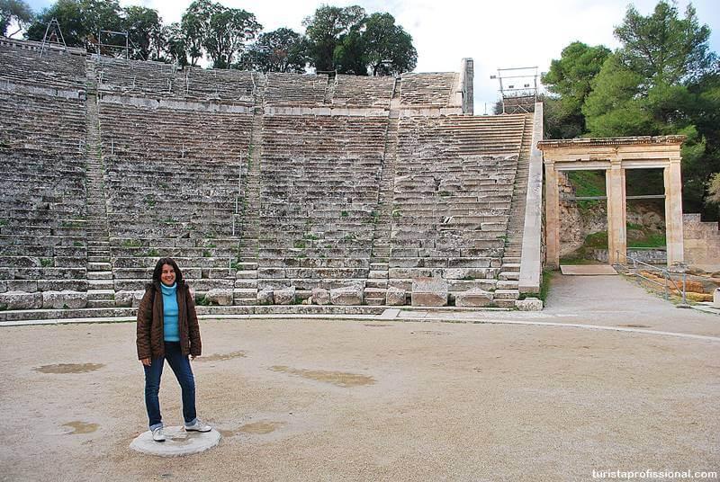 teatro de epidauro grecia - Teatro de Epidauro: como chegar e o que visitar