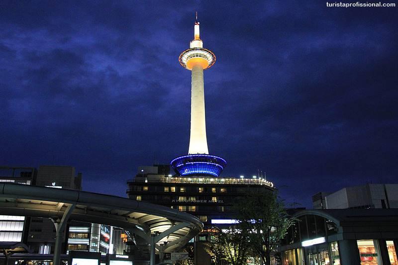 Torre de Quioto no Japão