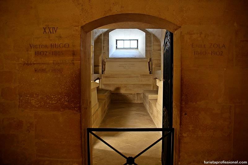 tumulo victor hugo panteao paris - Panteão de Paris, uma visita que vale a pena