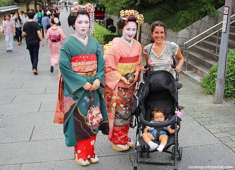 Queixas em Kyoto, Japão