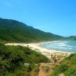 praia em Guarda do Embaú Santa Catarina