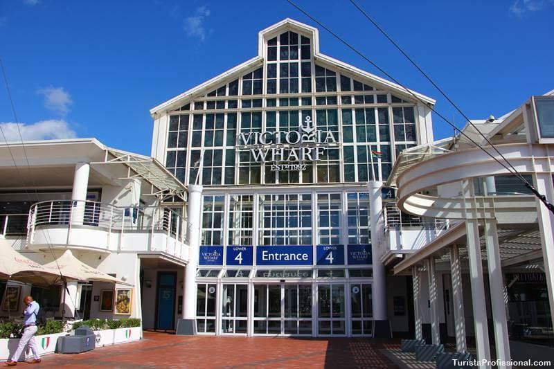 Compras em Cape Town Waterfront