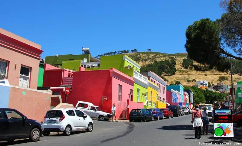 Bo Kaap em Cidade do Cabo