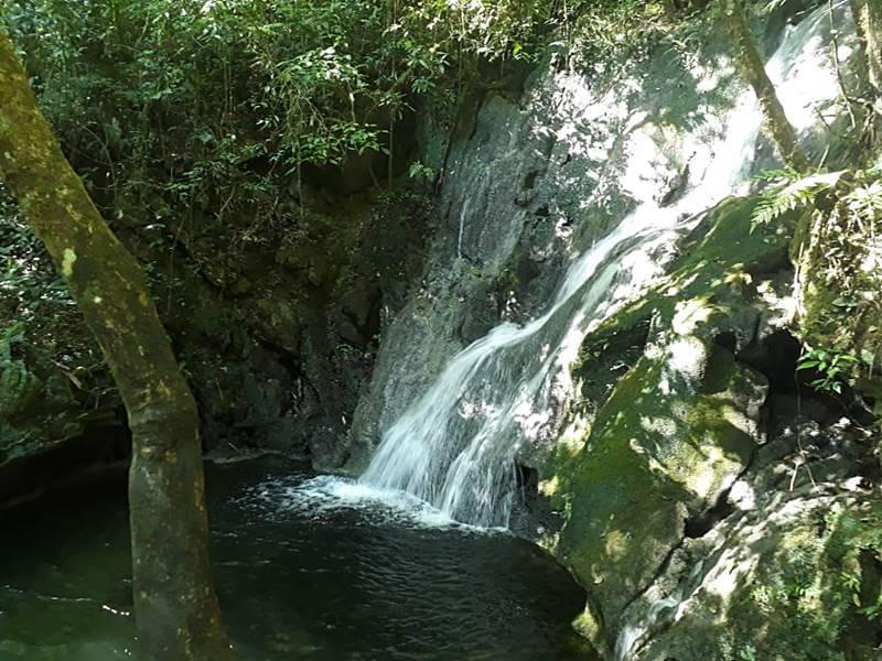 cachoeira na Caverna do Diabo
