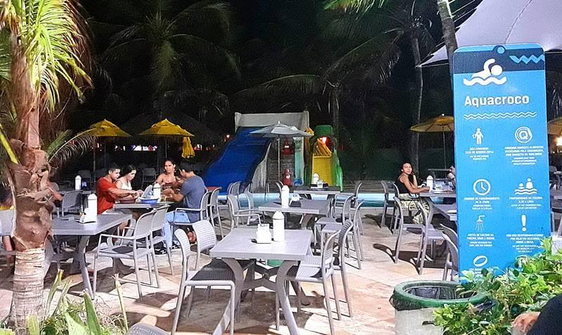complexo crocobeach fortaleza - Crocobeach na Praia do Futuro, Fortaleza