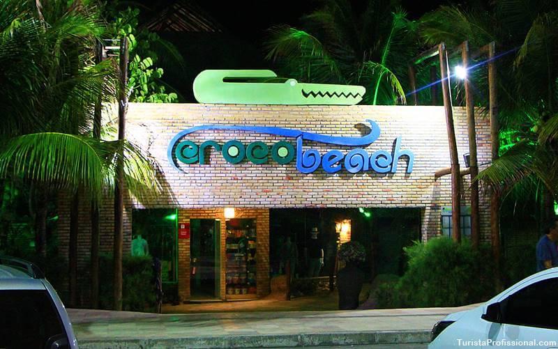 entrada crocobeach na praia do futuro - Crocobeach na Praia do Futuro, Fortaleza