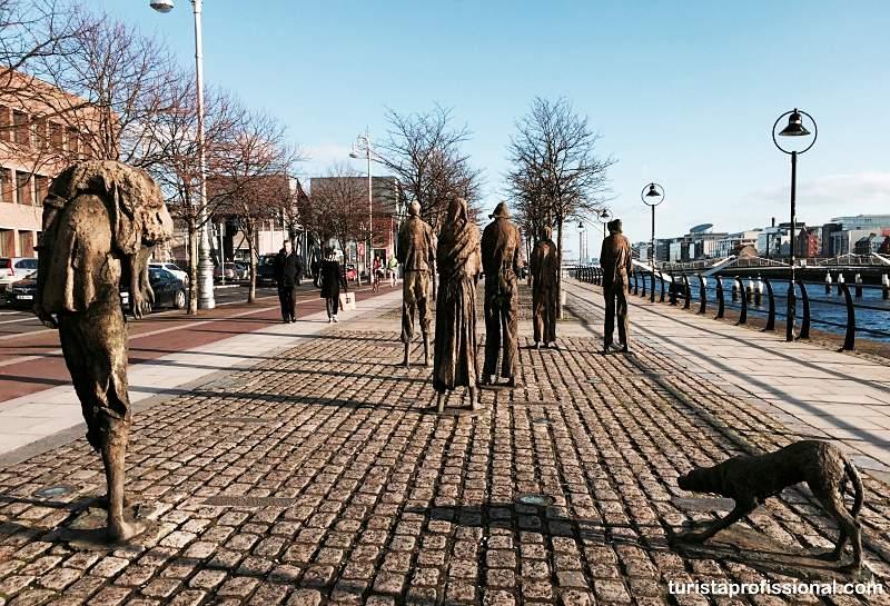 esculturas em Dublin - 15 dicas de Dublin: tudo o que você precisa saber!